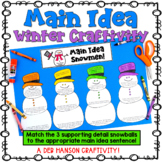 Main Idea Craftivity for Winter