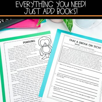 Main Idea & Detail Full Lesson Plans with Activities