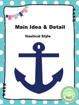 Main Idea & Detail Nautical Style