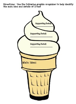 Main Idea & Detail: Teaching Made Easy!