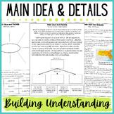 Main Idea & Details Activities, Scaffolded Practice to Build Understanding