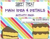 Main Idea & Details Activity Pack