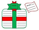 Main Idea Details- Christmas Present