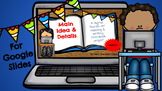 Main Idea & Details Digital reading and writing project  2