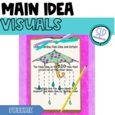 Main Idea & Details-FREEBIE Listening Comprehension-Reading Comprehension