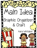 Main Idea Graphic Organizer & Craftivity