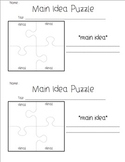 Main Idea/ Details Graphic Organizers