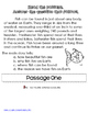 Main Idea & Details Interactive Flip Book for ELA