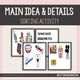 Main Idea & Details Sorting Activity