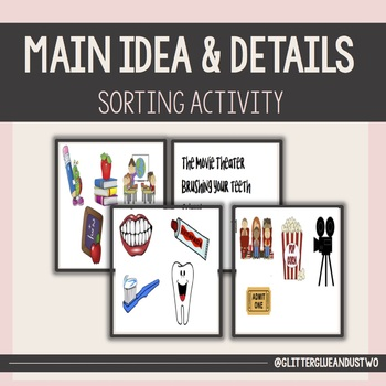 Main Idea & Details Sorting Activity