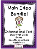 Main Idea Nonfiction Passages Bundle