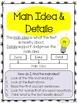 Main Idea & Details Task Cards - CCSS.ELA-Literacy.RI.2