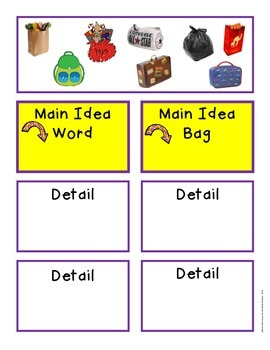 Main Idea Nonfiction Activities and Games