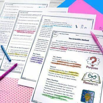 Main Idea and Details in Nonfiction RI.4.2 RI.5.2