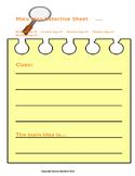 Main Idea Detective Sheet