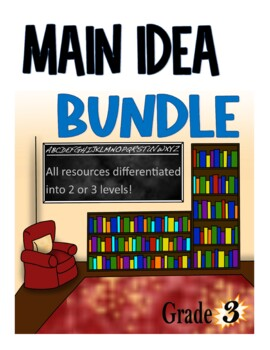 Main Idea Differentiated Bundle!