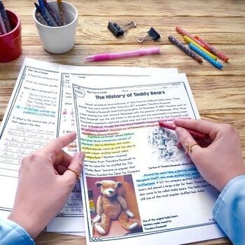 Main Idea Differentiated Bundle - 2nd, 3rd, 4th & 5th Grades