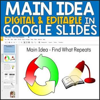 Main Idea - Digital Lesson
