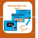 Main Idea Digital Task Cards