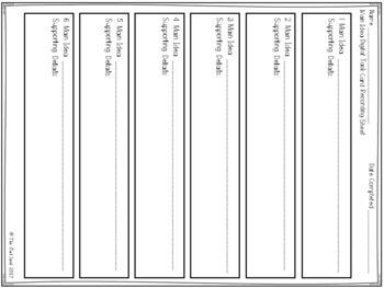 Main Idea Digital Task Cards set 1