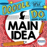 Main Idea Doodle Notes and Activities - Main Idea Reading