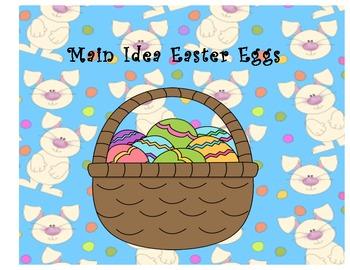 Main Idea Easter Eggs