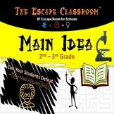 Main Idea Escape Room - 2-3 Grade