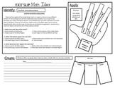 Main Idea Exit Slip