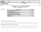 Main Idea Expository Worksheet with Multiple Choice DOL
