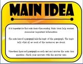 Main Idea Flip Cards