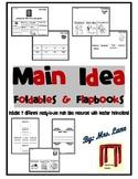 Main Idea Foldables & Flapbooks (Includes 7 Different Printables!)