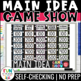 Main Idea Game Show | Find the Main Idea | ELA Test Prep Reading Review Game