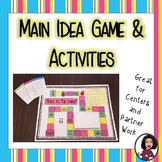 Main Idea Game and Activities Set