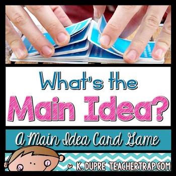 Main Idea Game