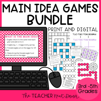 Main Idea Games