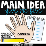 Main Idea Worksheets Hands-On Activities and Practice