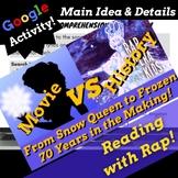 Main Idea Google Forms Reading Passage Using Rap Song