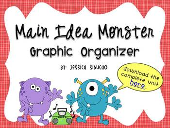 Main Idea Graphic Organizer