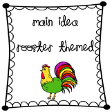 Main Idea Graphic Organizer Chicken, Egg, Nest (used with""