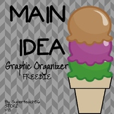 Main Idea Graphic Organizer FREEBIE *SPECIAL EDUCATION