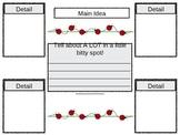 Main Idea Graphic Organizer Worksheet 1st Grade