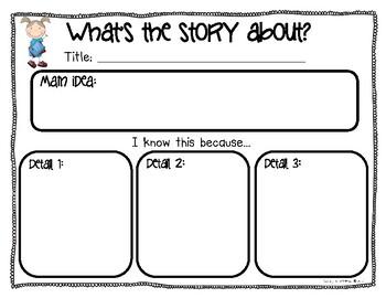 Main Idea Graphic Organizer for Students