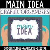 Distance Learning Digital Paperless Main Idea Graphic Orga