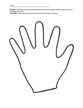 Main Idea Hand