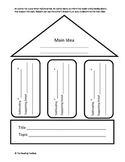 Main Idea House Graphic Organizer