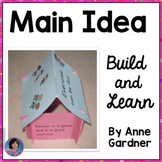 Main Idea and Supporting Details Reading Comprehension Houses - Build and Learn!