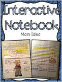 Main Idea Interactive Notebook