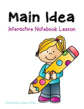 Main Idea Interactive Notebook Foldable