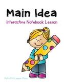 Main Idea Interactive Notebook Foldable