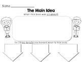 Main Idea & Key Details Printable